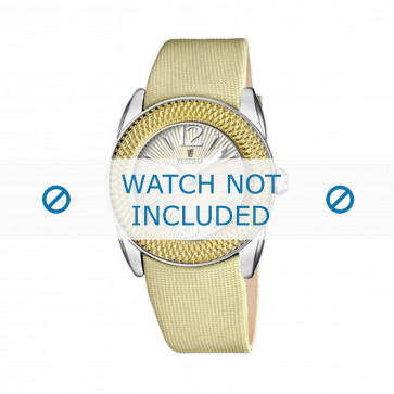 Cinturino per orologio Festina F16592/3 Pelle Marrone 21mm