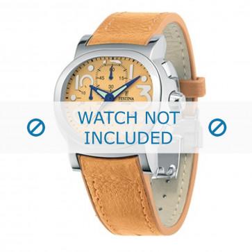 Festina cinturino dell'orologio F16125.5 Pelle Arancione 23mm