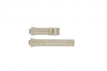 Festina cinturino orologio F16186/4 Pelle Marrone 14mm + cuciture bianco