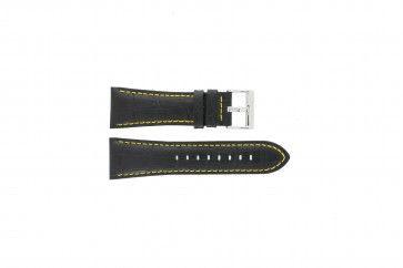 Cinturino per orologio Festina F16235/7 Pelle Nero 28mm