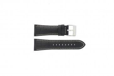 Cinturino per orologio Festina F16235-6 / F16235-F Pelle Nero 28mm