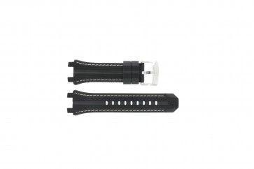 Cinturino per orologio Festina F16350-1 Gomma Nero 23mm
