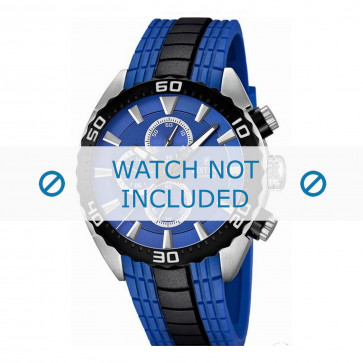 Festina cinturino dell'orologio F16664/6  Gomma / plastica Blu 23mm