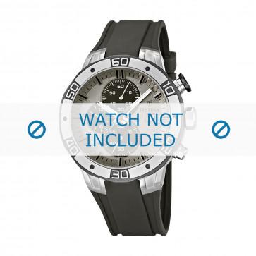 Festina cinturino dell'orologio F16667-2 Gomma / plastica Grigio 26mm