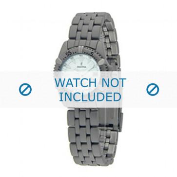 Festina cinturino dell'orologio F8889-1 / F8889-2 Metallo Argento