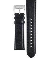 Cinturino per orologio Fossil FS4545 Pelle Nero 22mm