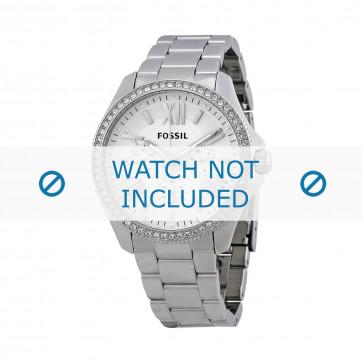 Fossil cinturino orologio AM-4481 Acciaio Argento 20mm