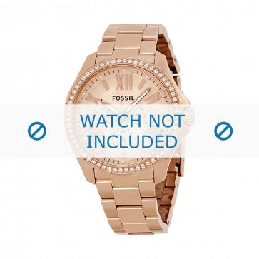 Cinturino per orologio Fossil AM4483 Acciaio Vino rosé 9mm