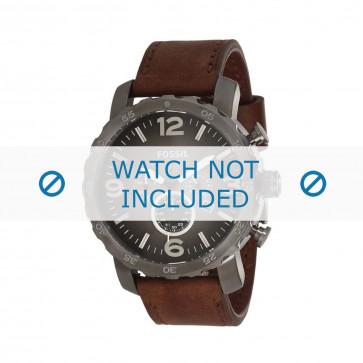 Fossil cinturino orologio JR-1424 Pelle Marrone 24mm