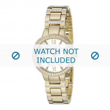 Cinturino per orologio Fossil ES3283 Acciaio Placcato oro 8mm