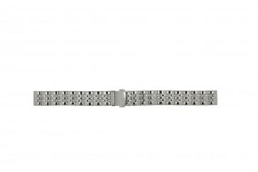 Fossil cinturino orologio ES-3433 Acciaio Argento 14mm