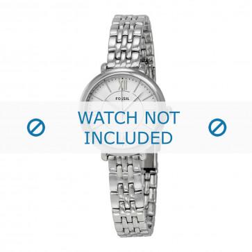 Fossil cinturino orologio ES-3797 Acciaio Argento 10mm
