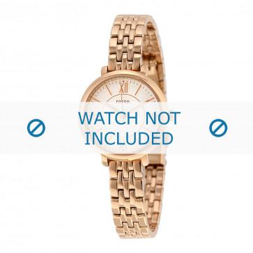 Fossil cinturino orologio ES-3799 Acciaio Oro (Rosé) 10mm