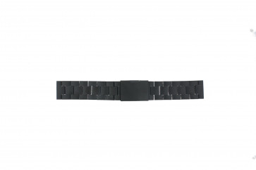 Fossil cinturino dell'orologio CH2816 Metallo Nero 20mm