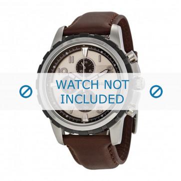 Cinturino per orologio Fossil FS4828 / FS4829 Pelle Marrone 22mm