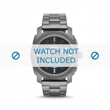 Cinturino per orologio Fossil FS4931 Acciaio Grigio 24mm