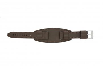 Fossil cinturino orologio JR1395 Pelle Marrone 20mm