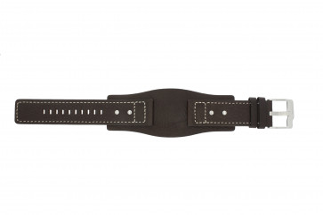 Fossil cinturino orologio JR9990 Pelle Marrone 24mm