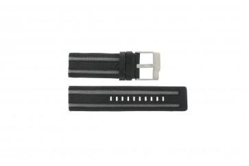 Cinturino per orologio Fossil JR9934 Pelle Nero 26mm