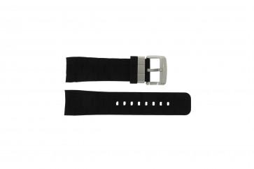 Guess cinturino orologio GC35006G1 / GC40500G1 / GC45005G Gomma Nero 24mm