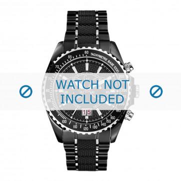 Guess cinturino dell'orologio GC46001G2 Metallo Nero