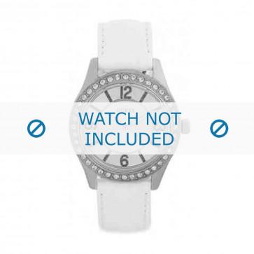 Cinturino per orologio Guess W0351L1 Pelle Bianco 18mm