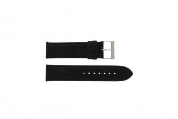 Guess cinturino orologio W10562G3  Pelle Nero 22mm