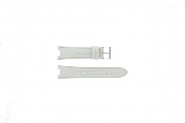 Guess cinturino dell'orologio W11586L3 Pelle Bianco 22mm