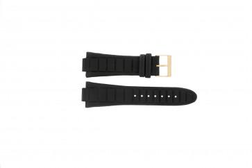 Guess cinturino orologio W14029G1 / W15513G1 Pelle Nero 14mm