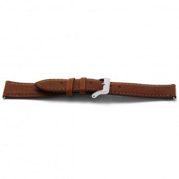 Cinturino dell'orologio H344 Pelle Cognac 22mm
