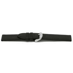 Cinturino orologio Pelle Nero 14mm EX-D129