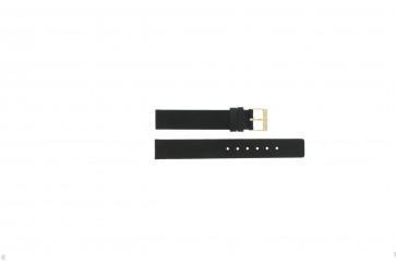 Cinturino per orologio Danish Design DD16 / IV12Q937 Pelle Nero 16mm