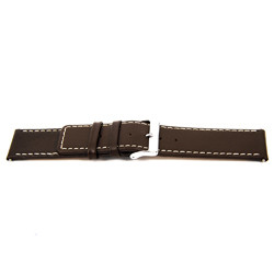 Cinturino orologio in vera pelle, marrone, 32mm EX-J43