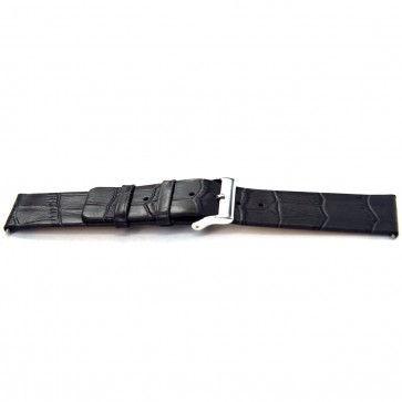 Cinturino per orologio Universale F810 Pelle Grigio 18mm