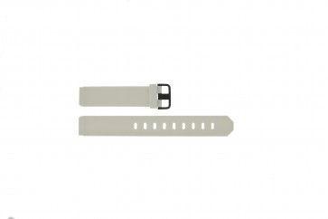 Cinturino per orologio Jacob Jensen 700 / 754 Gomma Bianco 17mm