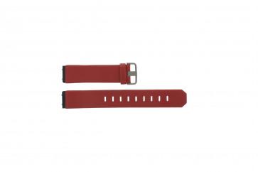 Jacob Jensen cinturino orologio 600 serie  Pelle Rosso 17mm