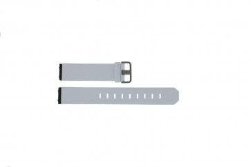 Cinturino per orologio Jacob Jensen 800 / 600 Pelle Bianco 19mm
