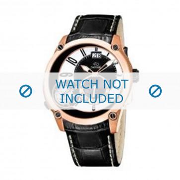 Cinturino per orologio Jaguar J631 / 2 Pelle Nero 24mm