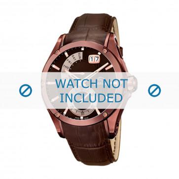 Jaguar cinturino dell'orologio J680-A  Pelle Marrone 22mm