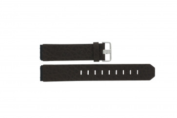 Jacob Jensen cinturino dell'orologio 800 / 843 Pelle Marrone 19mm