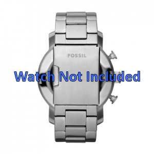 Fossil cinturino dell'orologio JR1353 Metallo Argento 24mm
