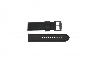 Cinturino per orologio Fossil JR1520 Pelle Nero 24mm