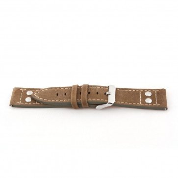 Cinturino per orologio Universale I820 Pelle Marrone 24mm