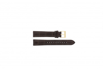 Lorus cinturino orologio VX32-X383 Pelle Marrone 18mm