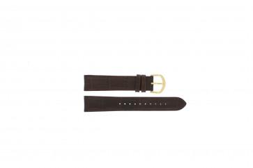 Lorus cinturino orologio VX32-X380 Pelle Marrone 19mm