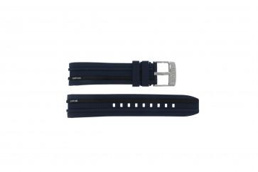 Festina cinturino dell'orologio 15881 Gomma Blu 18mm