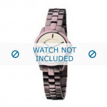 Mexx cinturino dell'orologio  Metallo Viola 14mm