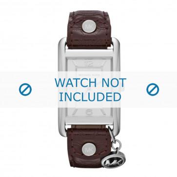 Cinturino per orologio Michael Kors MK2262 Pelle Marrone 18mm