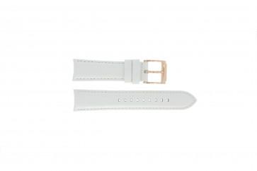 Cinturino per orologio Michael Kors MK2289 Pelle Bianco 22mm