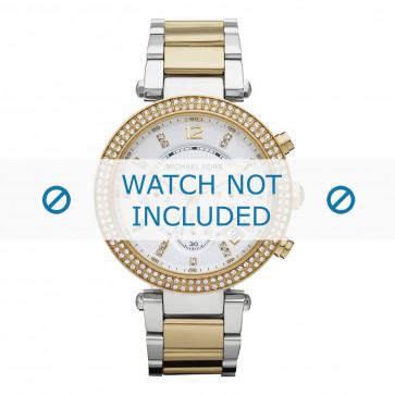 Michael Kors cinturino dell'orologio MK5626 Metallo Argento